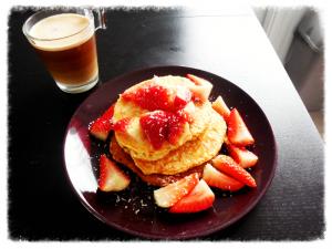 pancakes protéinés heathly
