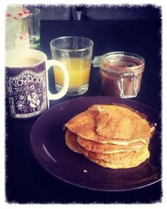 pancakes healthy protéinés